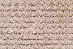 Gebreide achtergrond breiend patroon van wol knitting Textuur van gebreide wollen stof voor behang en een abstracte achtergrond royalty-vrije stock afbeelding