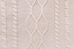 Gebreide achtergrond breiend patroon van wol knitting Textuur van gebreide wollen stof voor behang en een abstracte achtergrond stock afbeeldingen
