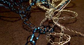 Gebreide kettingsjuwelen Stock Foto's
