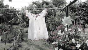 Gebreide kleding van mijn kinderjaren stock afbeeldingen