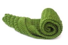 Gebreide sjaal Royalty-vrije Stock Fotografie
