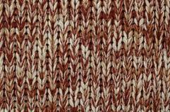 Gebreide stof. Textuur. Royalty-vrije Stock Afbeeldingen