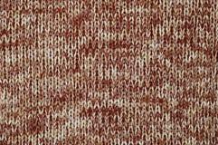 Gebreide stof. Textuur. Stock Afbeeldingen