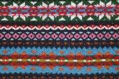 Gebreide Sweaterachtergrond royalty-vrije stock foto