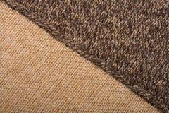Gebreide textielSamenvatting Als achtergrond Stock Foto's
