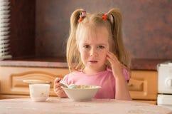 Gebrek aan eetlust. stock afbeeldingen