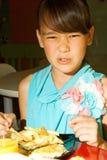 Gebrek aan eetlust, anorexia nervosa's. royalty-vrije stock fotografie