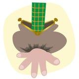 Gebrek aan Geld royalty-vrije illustratie