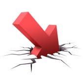 Gebrek aan Richting stock illustratie