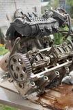 Gebrekkig motorvoertuig stock afbeelding