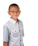 Gebrilde jongen Royalty-vrije Stock Fotografie