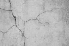 Gebrochene alte Betonmauer des Schmutzes Lizenzfreies Stockbild