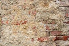 Gebrochene alte Wand Lizenzfreies Stockfoto