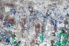 Gebrochene alte Wand des Schmutzes Lizenzfreie Stockfotografie