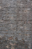 Gebrochene Backsteinmauer Lizenzfreies Stockbild