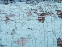 Gebrochene Beschaffenheit der Farbe Alte Farbe auf Holzoberflächenahaufnahme Ansicht der Spitze, Makrophotographie färbte Beschaf Stockfotografie