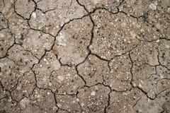 Gebrochene Erde Stockfoto