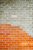 Gebrochener abstrakter Hintergrund der alten Backsteinmauer Lizenzfreie Stockfotos