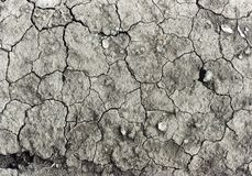 Gebrochener Boden Stockbild