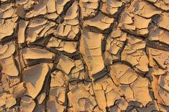 Gebrochener Boden der Dürre Stockfoto