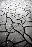 Gebrochener Boden: die Effekte der D?rre stockfotos