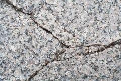 Gebrochener Granitstein Hintergrund, Beschaffenheit Lizenzfreie Stockfotografie