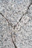 Gebrochener Granitstein Hintergrund, Beschaffenheit Stockbild