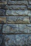 Gebrochener konkreter Backsteinmauerhintergrund Lizenzfreie Stockbilder