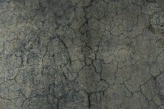 Gebrochener konkreter Bodenbelag vom Rochenpark Lizenzfreies Stockfoto