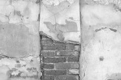 Gebrochener konkreter Weinlesewandhintergrund, alte Wand Lizenzfreie Stockbilder