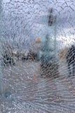Gebrochenes Glas Lizenzfreie Stockbilder