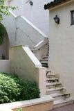 Gebrochenes Treppenhaus stockbild