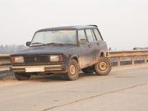 Gebroken auto Stock Fotografie