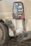Gebroken autolicht Royalty-vrije Stock Foto