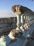 Gebroken Balkon Royalty-vrije Stock Afbeelding
