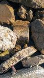 Gebroken cement royalty-vrije stock afbeeldingen