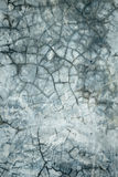 Gebroken concrete muur Stock Foto