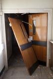 Gebroken deur Stock Fotografie