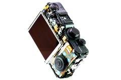 Gebroken digitale camera Stock Afbeelding