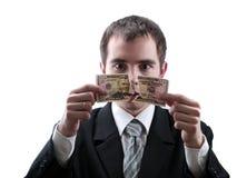 Gebroken dollar royalty-vrije stock afbeelding