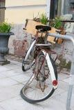 Gebroken fiets Stock Foto's