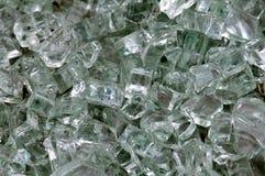 Gebroken glas stock foto's