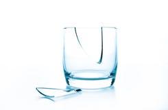 Gebroken glas stock fotografie