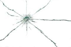 Gebroken glas Royalty-vrije Stock Afbeelding