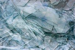 Gebroken glastextuur Stock Afbeeldingen