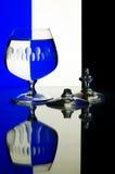 Gebroken glazen Royalty-vrije Stock Fotografie