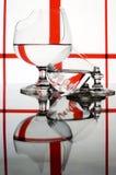 Gebroken glazen Royalty-vrije Stock Foto