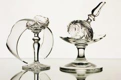 Gebroken glazen Royalty-vrije Stock Afbeeldingen