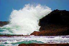 Gebroken golven Royalty-vrije Stock Afbeelding