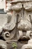 Gebroken grafsteen Stock Foto
